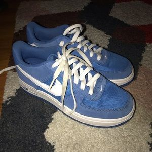White and Blue Airforces